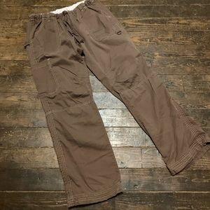 Brown Koi Scrub Pants - Medium
